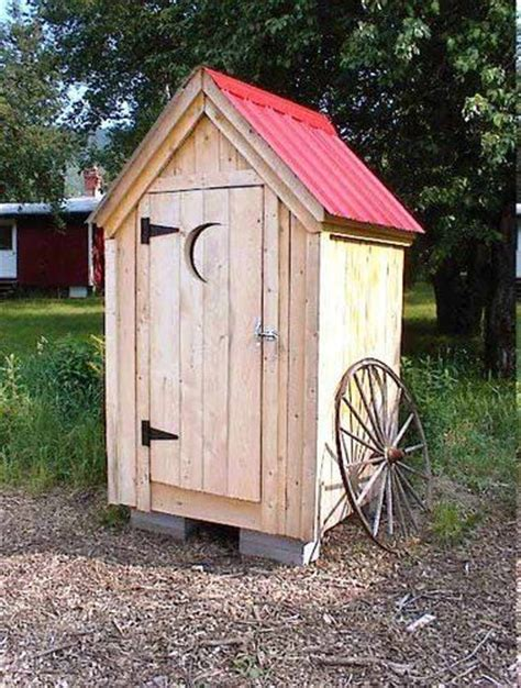 backyard outhouse 4x4 outhouse style shed garden outdoor backyard tool