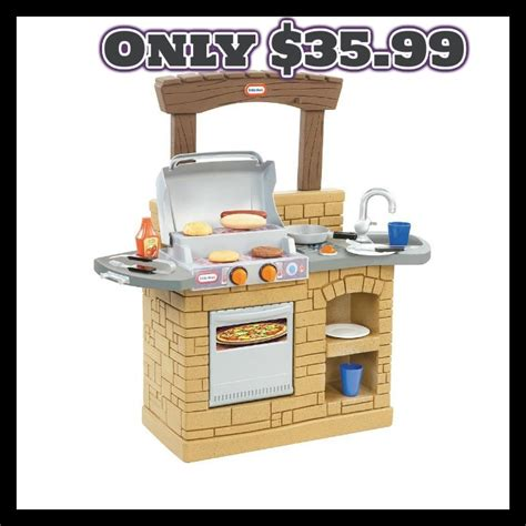 little tikes backyard barbecue little tikes cook n play outdoor bbq grill only 35 99
