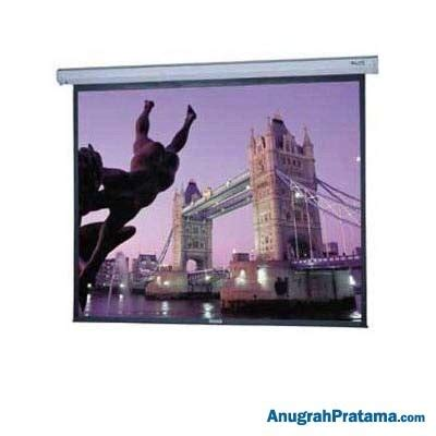 Screen Projector Motorized 96 Inci jual datalite ms 96 quot motorized 244 x 244 projector screen
