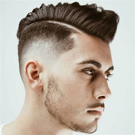 asian male side comb hair which side should i part my hair