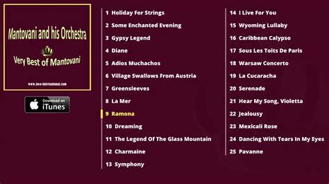 mantovani greatest hits mantovani and his orchestra best of mantovani album