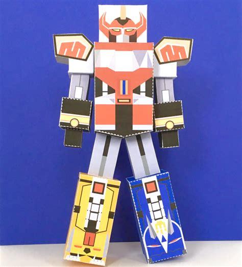 Megazord Papercraft - power rangers craft