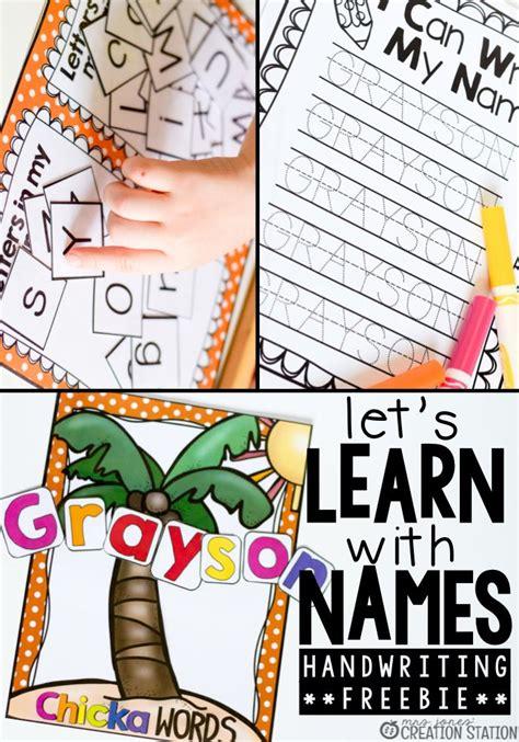 kindergarten activities names 329 best name recognition spelling images on pinterest