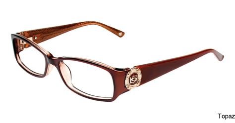 buy bebe bb5060 glitzy frame prescription eyeglasses