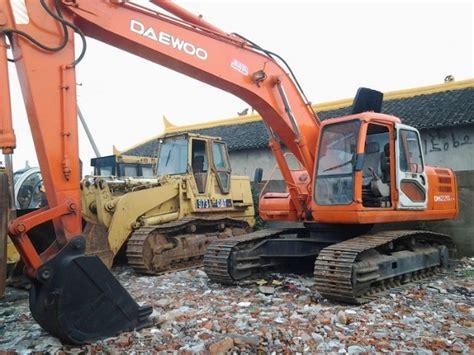used daewoo dh220lc 7 excavator crawler excavators year