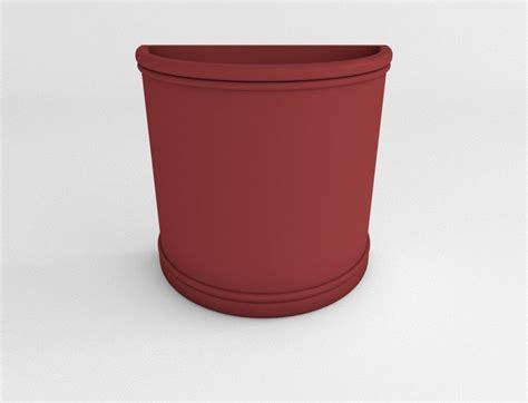Half Planter Pots by Half Plastic Planter Enterprises Plastic