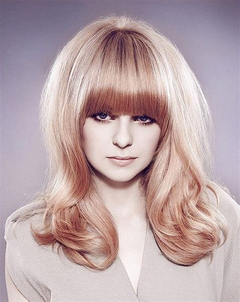 big volum short hairstyles long blonde straight coloured multi tonal volume defined