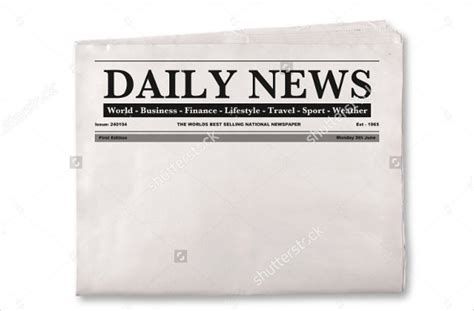 Blank Newspaper Template 20 Free Word Pdf Indesign Eps Documents Download Free Newspaper Headline Template