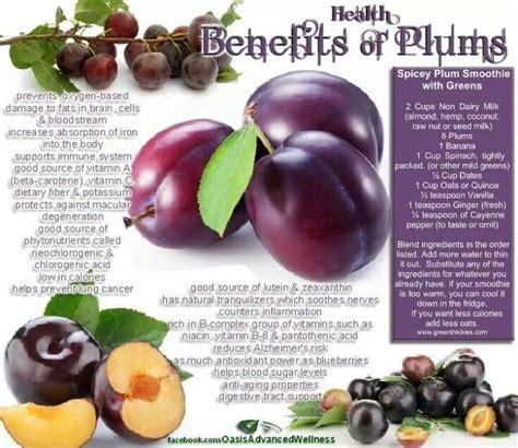 Plumb Benefits plum benefits eat better eat
