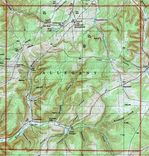 usgs topographic map potter county pennsylvania usgs topographic maps on cd