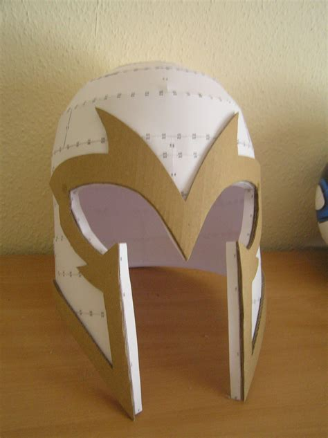 pepakura x men first class magneto helmet by