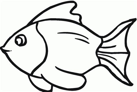 fish to color fish template cut out az coloring pages crafting