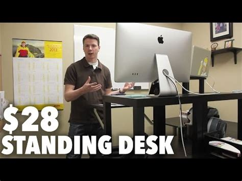 turn desk into stand up desk convert any desk into stand up workstation with this