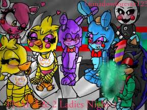 Gift fnaf 1 and 2 ladies night rp starter by mobian gamer on