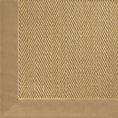 chevron sisal rug chevron sisal with cotton border rug traditional rugs by shades of light