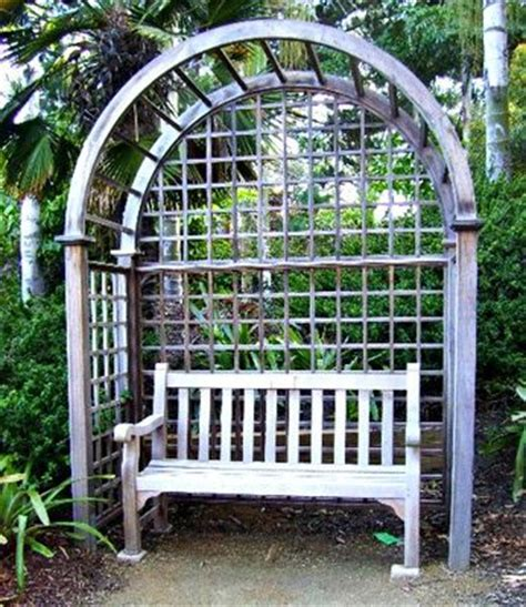 bench with arbor bench with arbor