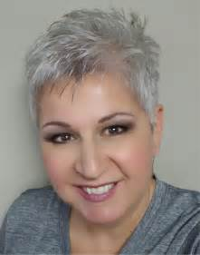 extremely hair cuts for with gray hair 50 years short silver pixie cut silver gray white pinterest