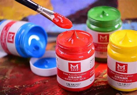 Harga 1 Set Cat Akrilik bona 300 ml kreatif tangan lukisan cat akrilik cat akrilik
