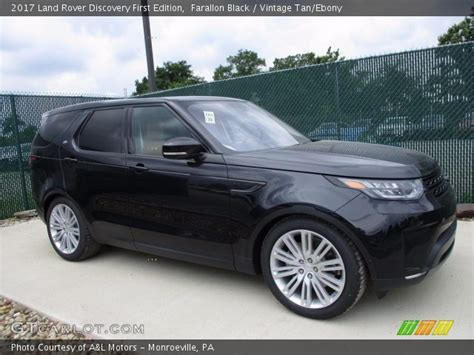 vintage land rover discovery farallon black 2017 land rover discovery edition