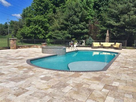 inground pool ideas in ground pool designs cleveland