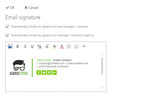 Office 365 How To Change Signature How Do I Add Change Setup Install Email Signature