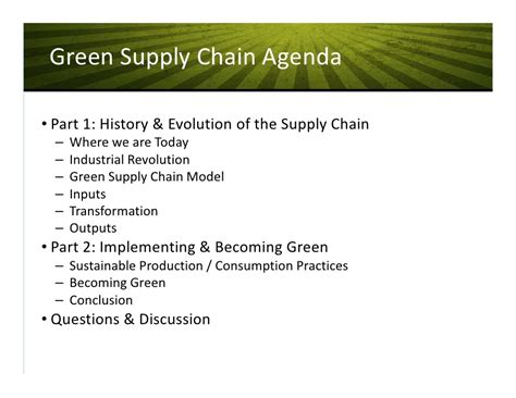 the evolving green supply chain the evolving green supply