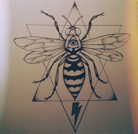 wasp tattoo design wasp idea tattoos ideas