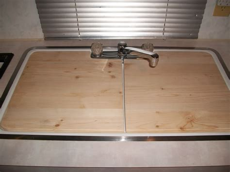 Kitchen Sink Cover Just Create Your Own Sink Cover By Using A Cardboard Template And Make From Wood Measure