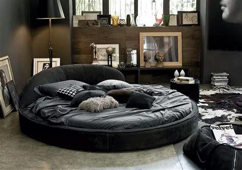 circle bed  unique bedroom interior design small