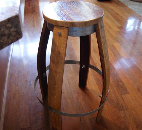 reclaimed wine barrel bar stool 200 reclaimedwinebarrel