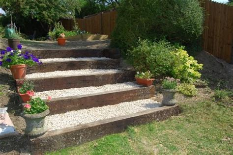 Railroad Ties Landscaping Ideas 1000 Ideas About Railway Ties On Pinterest Railroad Ties Railway Sleepers And Oak Sleepers