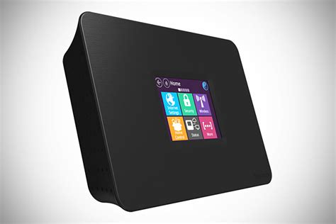 almond ac touchscreen wifi router smart home hub