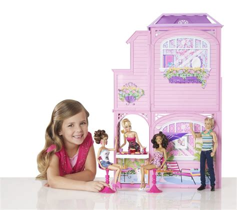 barbie doll beach house barbie 2 story beach house best collections by mattel on lovekidszone lovekidszone