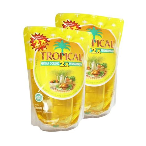 Minyak Goreng Fortune 2 Ltr jual tropical minyak goreng 2 liter 3 pouch harga kualitas terjamin blibli