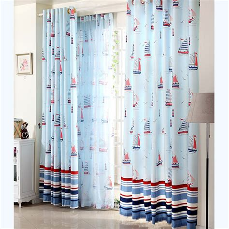 Baby Boy Curtains Nursery Curtains Baby Nursery Decor Sailing Boats Nautical Baby Boy Curtains For Nursery Motif Models Display