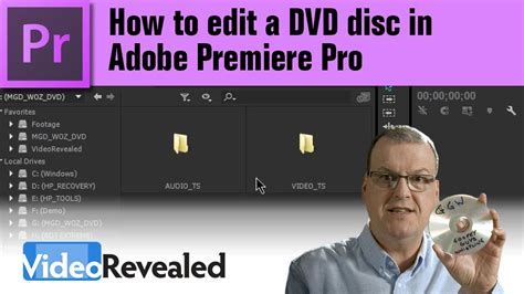 adobe premiere pro dvd how to edit a dvd disc in adobe premiere pro youtube
