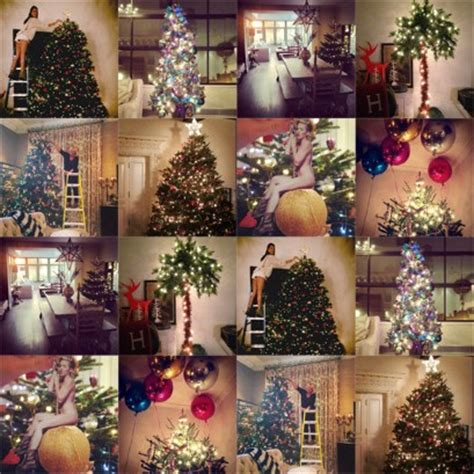 celebrity instagram christmas best dressed celebrity christmas trees telegraph