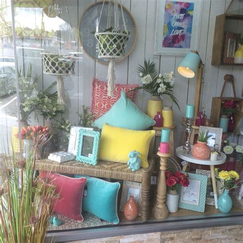 home decor shop our gelati window display at lavish abode home decor