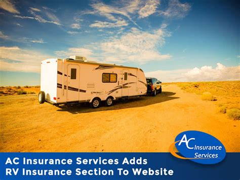 rv insurance quote ac insurance services adds rv insurance section to website