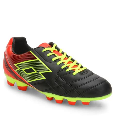 lotto spider xi black sport shoes snapdeal price sports