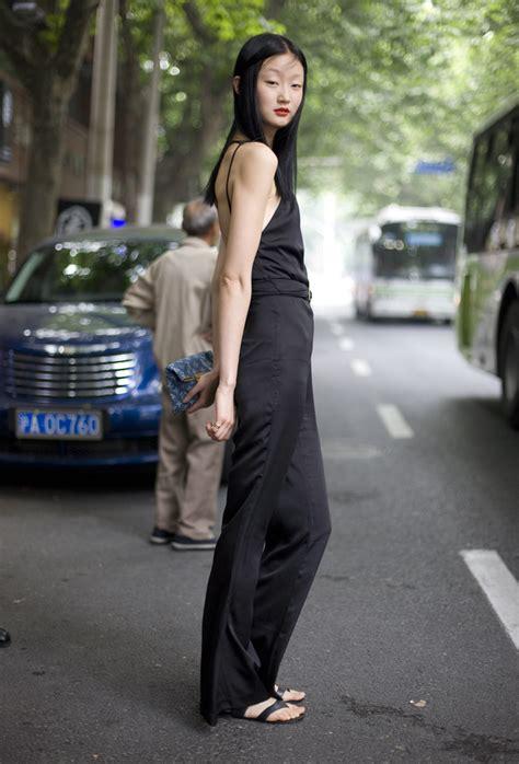 shanghai style black jumpsuit shanghai fashion peeper