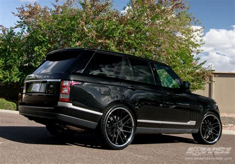 black chrome range rover 2013 land rover range rover with 24 quot gianelle yerevan in