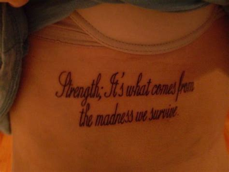 tattoo quotes for strength and courage