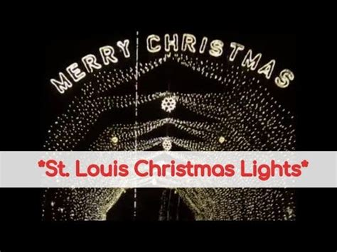 st louis christmas lights our lady of the snows way of