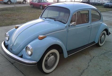 Blue 1970 Beetle Paint Cross Reference