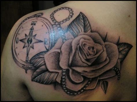 compass and rose tattoo meaning 50 beautiful compass designs and meanings