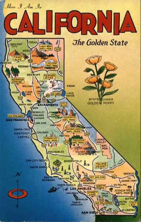 california map golden state california the golden state maps