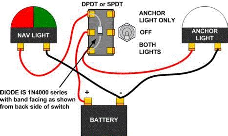anc nav switch wiring page 1 iboats boating forums