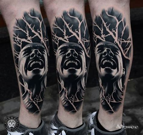scream tattoo ink 254 best images about black and grey tattoos on