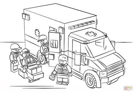 lego vire coloring pages coloriage ambulance lego coloriages 224 imprimer gratuits